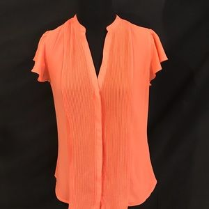 Coral Blouse